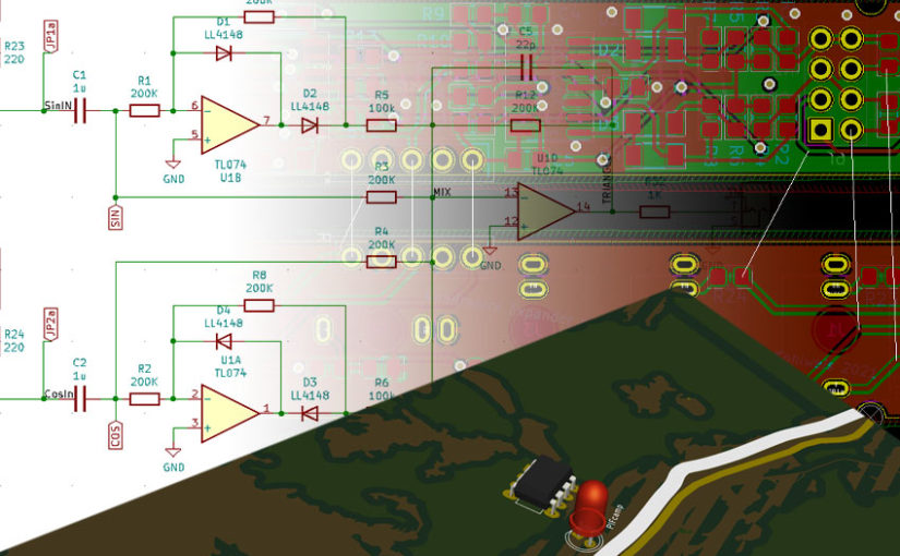 Open hardware with open software – an introduction into designing PCBs with KiCad